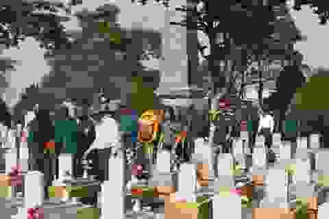 Quảng Trị tổ chức lễ truy điệu và an táng 15 hài cốt liệt sĩ