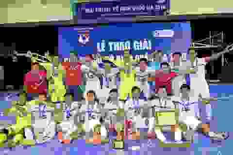 Xác định đủ 10 đội dự vòng chung kết giải futsal quốc gia 2017