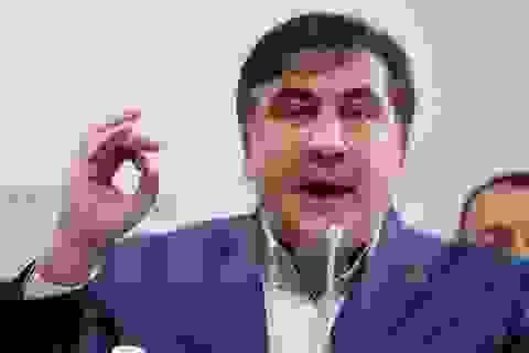 Cựu Tổng thống Saakashvili muốn trở thành Thủ tướng Ukraine