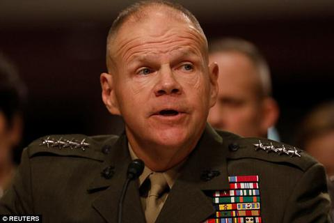 """Tướng Mỹ kêu gọi binh sĩ chuẩn bị cho """"trận chiến lớn"""""""