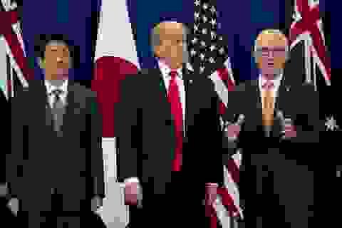 """Trung Quốc lo lắng khi Mỹ và 3 đồng minh khu vực """"bắt tay"""""""