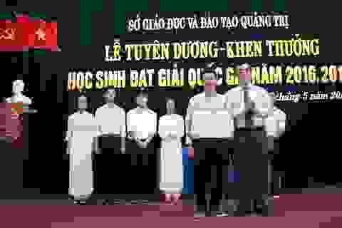 Quảng Trị: Tuyên dương những học sinh đạt giải trong các kỳ thi Quốc gia