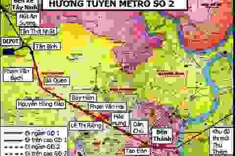 TPHCM xin gia hạn triển khai tuyến metro Bến Thành – Tham Lương