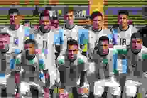 Nhiều ngôi sao hàng đầu của U20 Argentina sẽ không đến Việt Nam