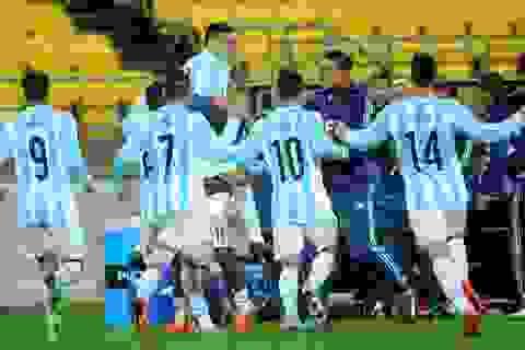 U20 Argentina chính thức hội quân, sẵn sàng mang đội hình tốt nhất sang Việt Nam