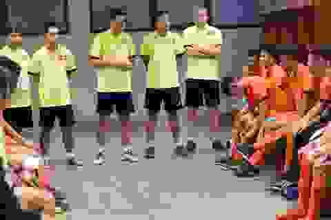 Đội tuyển U20 futsal Việt Nam sẵn sàng cho giải U20 futsal châu Á 2017