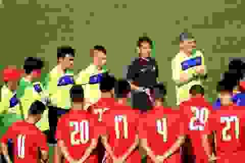 HLV Hoàng Anh Tuấn có nhiều phương án khác nhau cho U20 Việt Nam