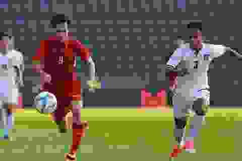 U23 Việt Nam sẽ thay đổi nhân sự trên hàng công ở trận gặp Uzbekistan?