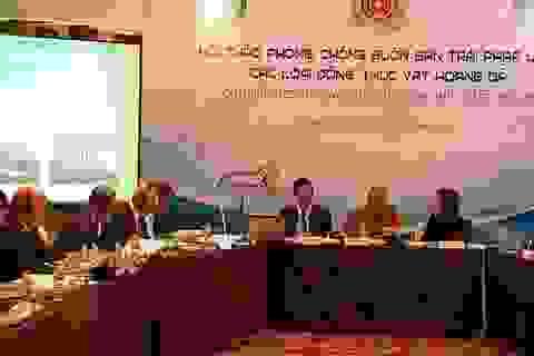 Việt - Anh tìm biện pháp chấm dứt nạn buôn bán động vật hoang dã