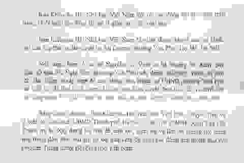 Ban kiểm tra Hội nhà báo Việt Nam đề nghị xử lý tố cáo vi phạm trật tự xây dựng