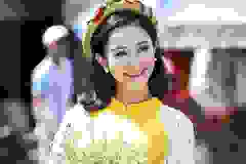 Á hậu Hà Thu bồi hồi nhớ Tết tuổi thơ ở cố đô Huế