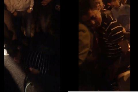 Vụ người cha đâm chết con: Dân bức xúc vây lại đánh nghi phạm