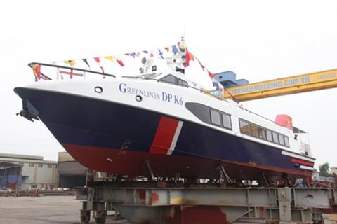 Tàu cao tốc hai thân GreenlinesDP đạt chứng nhận an toàn quốc tế về đường thủy