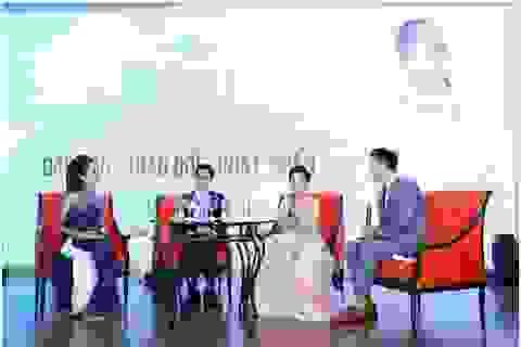 Sao Việt rạng rỡ dự sự kiện của Hoài Thương Organic