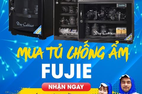 Tháng vàng khuyến mại FujiE tặng hàng nghìn áo mưa thời trang cao cấp