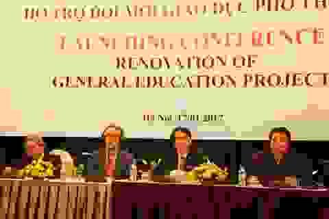 Khởi động dự án hỗ trợ đổi mới giáo dục phổ thông Việt Nam