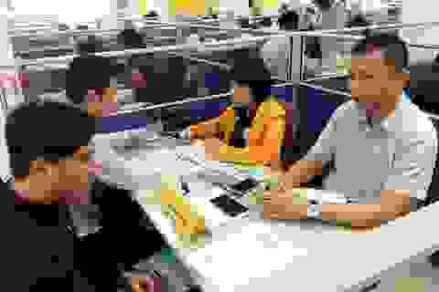 Phiên GDVL thanh niên: Gần 10 % chỉ tiêu có lương tháng từ 7-15 triệu đồng