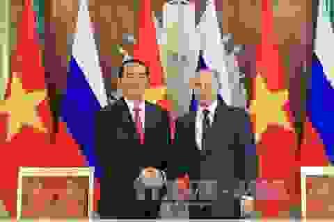 Việt - Nga hợp tác, mở rộng thăm dò và khai thác dầu khí trên biển