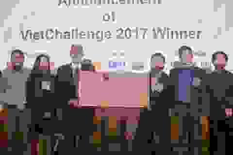 """Ý tưởng """"Hành động vì giáo dục"""" chiến thắng cuộc thi khởi nghiệp Việt toàn cầu"""