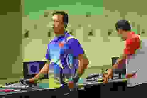 Hoàng Xuân Vinh buồn bã vì không giành được HCV SEA Games 29