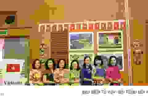 Nét văn hóa Việt Nam tại Tiệc trà nữ cán bộ Ngoại giao