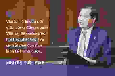 """Đại sứ Nguyễn Tiến Minh: """"Sau buổi đối thoại với Viettel, tôi tin rằng sẽ có nhiều ý tưởng được triển khai"""""""