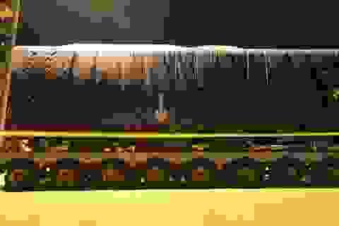 """432 bánh xe siêu trường siêu trọng """"hộ tống"""" đoàn tàu Cát Linh - Hà Đông"""