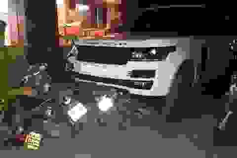 Hà Nội: Nghi vấn cướp xe Range Rover bỏ chạy, gây tai nạn liên hoàn