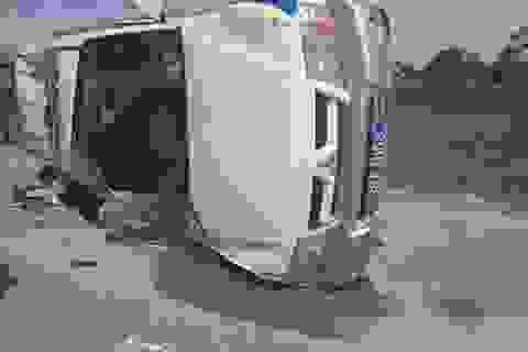 Lái xe Fortuner hất tung xe CSGT là giám đốc công ty vệ sĩ