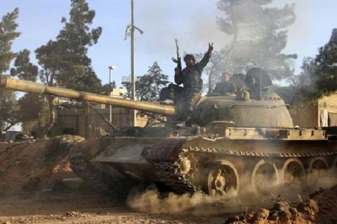 Đụng độ dữ dội giữa quân đội Syria và FSA ở đông Sweida