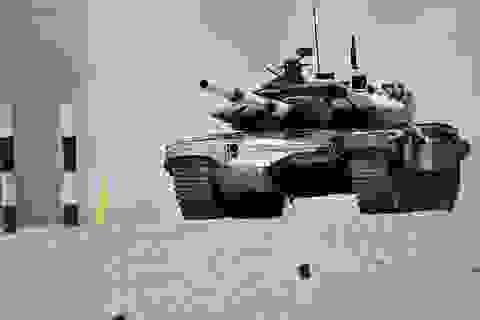 Đội xe tăng Nga lập kỷ lục trong cuộc so tài quân sự thế giới