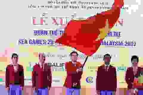 Tưng bừng lễ xuất quân của đoàn Thể thao Việt Nam tham dự SEA Games 29
