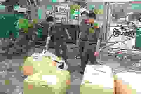 Ngăn chặn hơn 1,2 tấn sụn gân gà không nguồn gốc