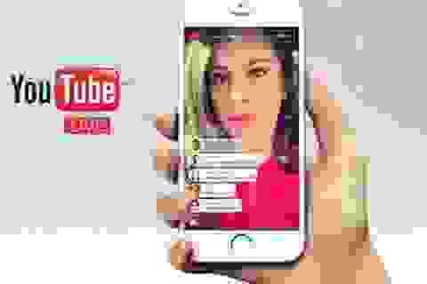 Youtube thêm tính năng truyền hình trực tiếp từ smartphone để cạnh tranh với Facebook