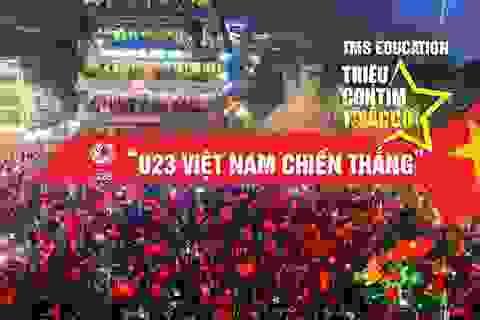 TMS Education tri ân khách hàng nhân chiến thắng vĩ đại của U23 Việt Nam