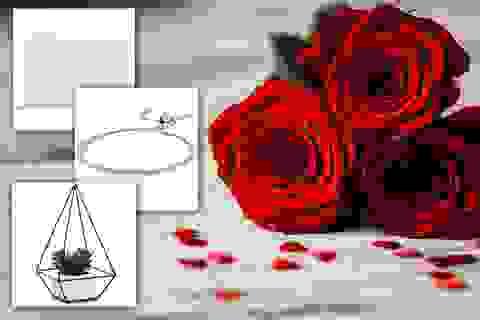 Ý tưởng quà tặng Valentine cho nàng