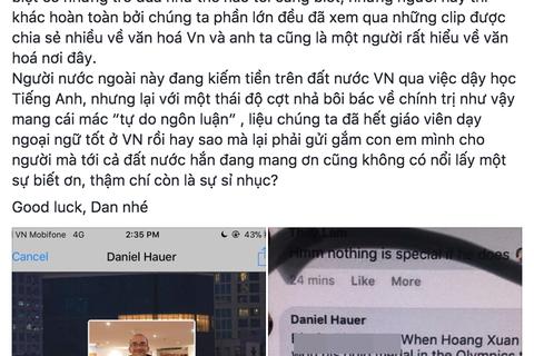 """Phẫn nộ """"thầy"""" tiếng Anh """"đá xéo"""" U23 Việt Nam và xúc phạm Đại tướng Võ Nguyên Giáp"""
