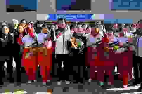 """Cầu thủ Hàn - Triều lập đội thi đấu chung: """"Chúng ta là một"""""""