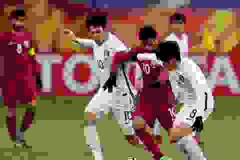 Đánh bại Hàn Quốc, U23 Qatar giành hạng ba giải U23 châu Á 2018
