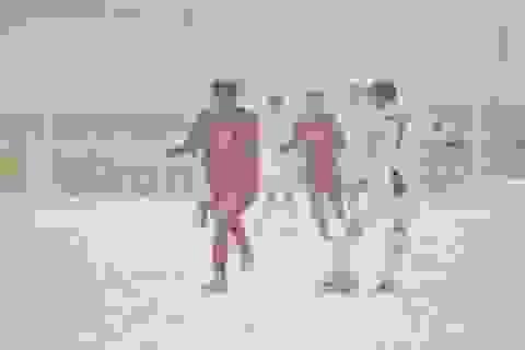 Cầu thủ U23 Việt Nam rơi nước mắt vì trận thua đau đớn