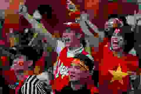 Sao Việt cực kỳ máu lửa cổ vũ cho tuyển U23 Việt Nam