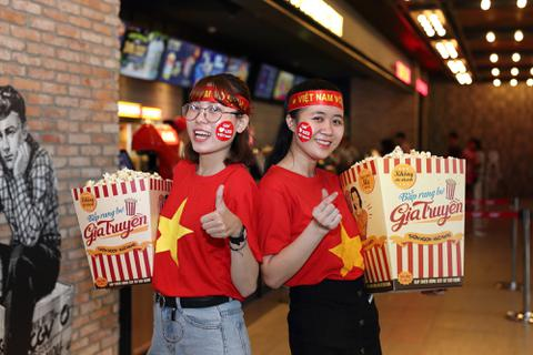 Giới trẻ Sài Gòn tưng bừng đón lễ hội tại cụm rạp CGV
