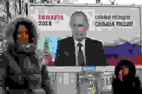 """Điện Kremlin """"tố"""" Mỹ can thiệp bầu cử tổng thống"""