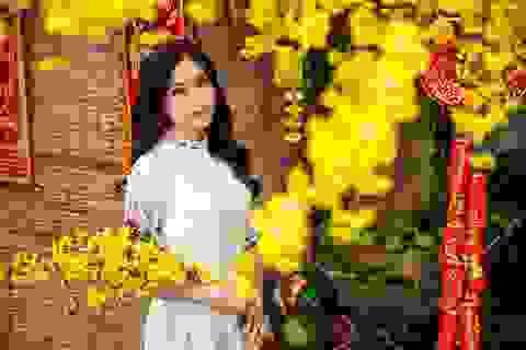 """Top 9 Miss Teen hóa """"cô Ba Sài Gòn"""" trong bộ ảnh đón Xuân"""