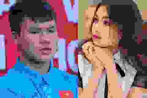 """Á hậu Lệ Hằng kể kỉ niệm """"khóc hết nước mắt"""" vì Quang Hải"""