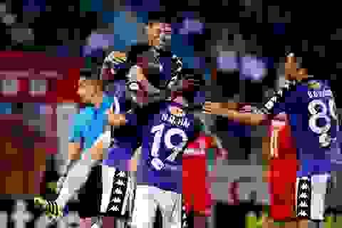 CLB Hà Nội sẽ nhận cúp vô địch V-League 2018 ở vòng 25