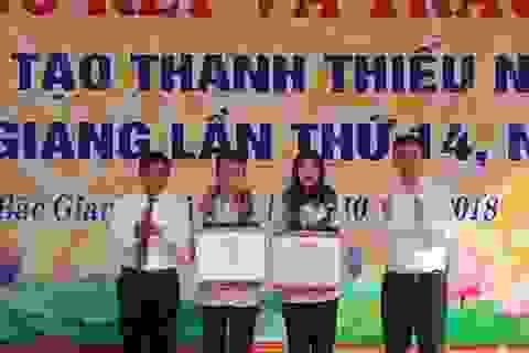 Cháu bé 6 tuổi đạt giải cuộc thi Sáng tạo thanh thiếu niên, nhi đồng tỉnh Bắc Giang