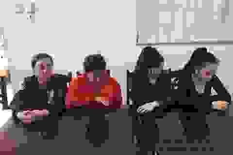 Tạm giữ 4 nghi phạm bắt nữ nhân viên Spa lên taxi đi hành hung