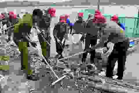"""Gần 10.000 đoàn viên, thanh niên tham gia chiến dịch  """"Hãy làm sạch biển"""""""