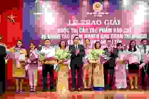 Báo Dân trí nhận Giải B cuộc thi viết về giảm nghèo